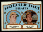 1972 Topps #392   -  Fred Camria / Richie Zisk Pirates Rookies   Front Thumbnail