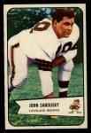 1954 Bowman #28  John Sandusky  Front Thumbnail