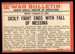 1965 Philadelphia War Bulletin #25   Death in the Ruins Back Thumbnail