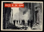 1965 Philadelphia War Bulletin #25   Death in the Ruins Front Thumbnail