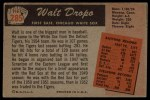 1955 Bowman #285  Walt Dropo  Back Thumbnail