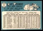 1965 Topps #111  Lee Thomas  Back Thumbnail