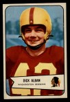 1954 Bowman #51  Dick Alban  Front Thumbnail