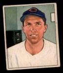 1950 Bowman #198  Danny Litwhiler  Front Thumbnail