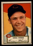 1952 Topps #80  Herm Wehmeier  Front Thumbnail