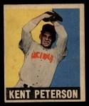 1949 Leaf #42  Kent Peterson  Front Thumbnail