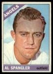 1966 Topps #173  Al Spangler  Front Thumbnail