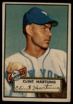 1952 Topps #141 CRM Clint Hartung  Front Thumbnail