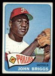 1965 Topps #163  Johnny Briggs  Front Thumbnail