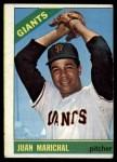 1966 Topps #420  Juan Marichal  Front Thumbnail