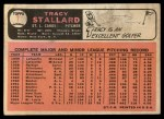 1966 Topps #7  Tracy Stallard  Back Thumbnail