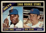 1966 Topps #67   -  Cleon Jones / Dick Selma Mets Rookies Front Thumbnail