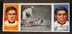 1912 T202 Hassan #124   -  Doc Crandall / Chief Meyers Too Late For Devlin  Front Thumbnail