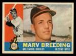 1960 Topps #525  Marv Breeding  Front Thumbnail