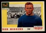 1955 Topps #33  Bob Higgins  Front Thumbnail