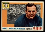 1955 Topps #96  Bill Hollenback  Front Thumbnail