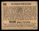 1939 Gum Inc. War News Pictures #90   Hela Peninsula Finally Surrenders Back Thumbnail