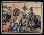 1939 Gum Inc. War News Pictures #90   Hela Peninsula Finally Surrenders Front Thumbnail