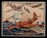 1939 Gum Inc. War News Pictures #93   British Flyers Down Nazis In Dog Fight At Sea Front Thumbnail