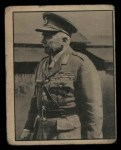 1939 Gum Inc. War News Pictures #14   England's General Ironsides Front Thumbnail