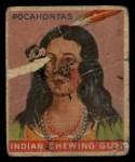 1933 Goudey Indian Gum #33  Pocahontas   Front Thumbnail