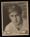 1940 Play Ball #24  Frank 'Blimp' Hayes  Front Thumbnail