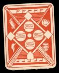 1951 Topps Red Back #28  Elmer Valo  Back Thumbnail