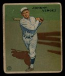 1933 Goudey #233  Johnny Vergez  Front Thumbnail