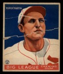 1933 Goudey #62  Pepper Martin  Front Thumbnail
