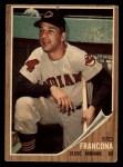 1962 Topps #97  Tito Francona  Front Thumbnail