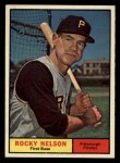 1961 Topps #304  Rocky Nelson  Front Thumbnail