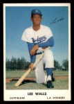 1962 Bell Brand Dodgers #56  Lee Walls  Front Thumbnail