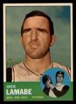 1963 Topps #251  Jack Lamabe  Front Thumbnail
