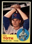 1963 Topps #489  Paul Toth  Front Thumbnail