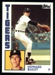 1984 Topps #284  Howard Bailey  Front Thumbnail
