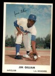 1962 Bell Brand Dodgers #19  Jim Gilliam  Front Thumbnail