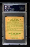 1933 Goudey #25  Paul Waner  Back Thumbnail