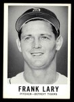 1960 Leaf #3  Frank Lary  Front Thumbnail