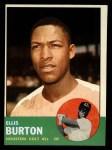 1963 Topps #262  Ellis Burton  Front Thumbnail