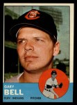 1963 Topps #129  Gary Bell  Front Thumbnail