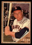 1962 Topps #422  Steve Bilko  Front Thumbnail