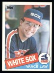 1985 Topps #413  Vance Law  Front Thumbnail