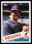 1985 Topps #609  Broderick Perkins  Front Thumbnail