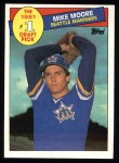 1985 Topps #279  Mike Moore  Front Thumbnail
