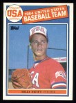 1985 Topps #404   -  Bill Swift Team USA Front Thumbnail