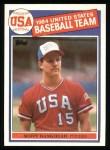 1985 Topps #393   -  Scott Bankhead Team USA Front Thumbnail