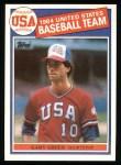 1985 Topps #396   -  Gary Green Team USA Front Thumbnail