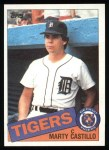 1985 Topps #461  Marty Castillo  Front Thumbnail