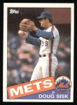 1985 Topps #315  Doug Sisk  Front Thumbnail