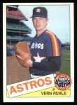 1985 Topps #426  Vern Ruhle  Front Thumbnail